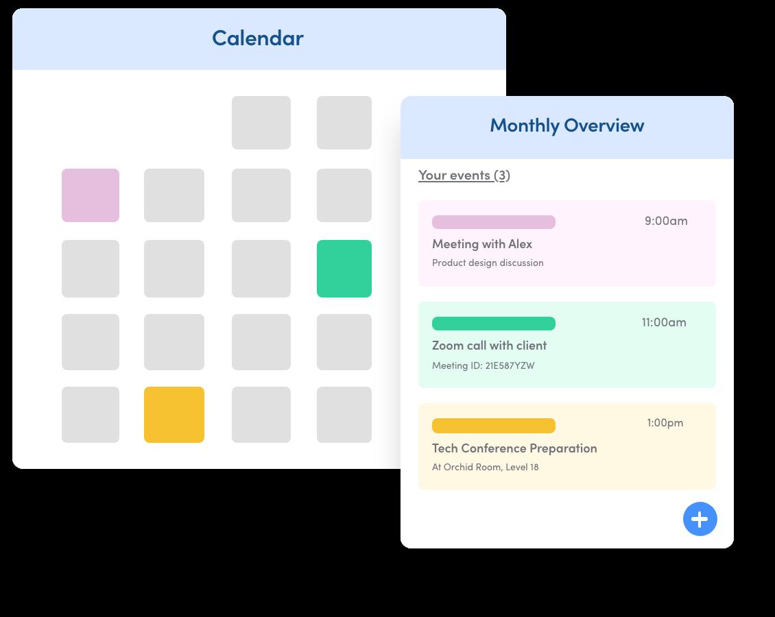 Calendar Scheduling